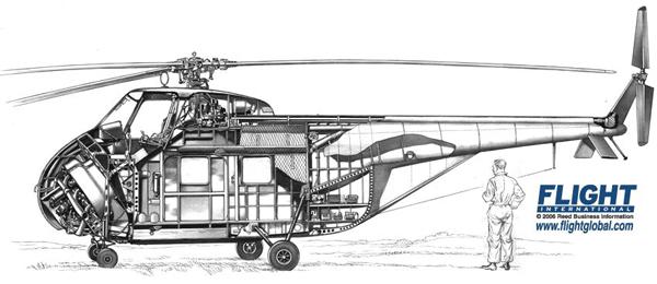Elicottero S 55 : Sikorsky s storia descrizione tecnica e prestazioni