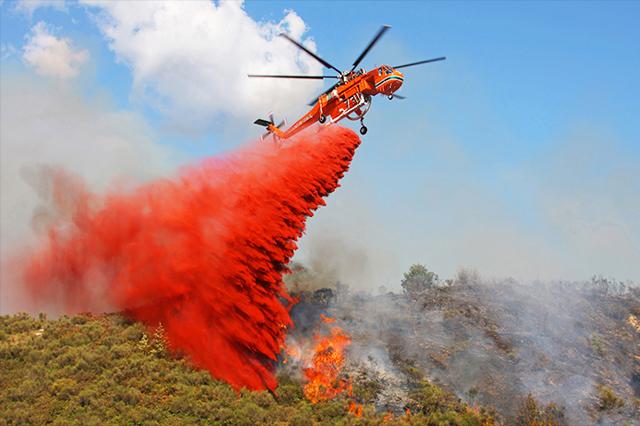 Resultado de imagen para skycrane fire helicopter