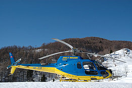 Mounts of Calascio/TI, March 2006 - The AS 350B3 Ecureuil HB-ZCM in service with Heli-Rezia (M. Bazzani)