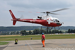 Grenchen/SO, June 2017 - The AS 350B3 Ecureuil HB-ZEI in service with Swiss Helicopter (M. Bazzani)