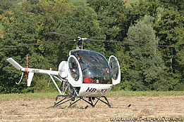 Heli-Event Melchnau, September 2009 - The Schweizer 300C HB-XYI in service with Heliswiss (M. Bazzani)