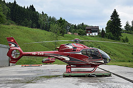 Schindellegi/SZ, June 2016 - The EC 120B Colibri HB-ZWB in service with Fuchs Helikopter (M. Bazzani)