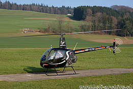 March 2011 - The Robinson R-22 Beta HB-XZN in service with Airport Helicopter Basel AG (B. Siegfried)