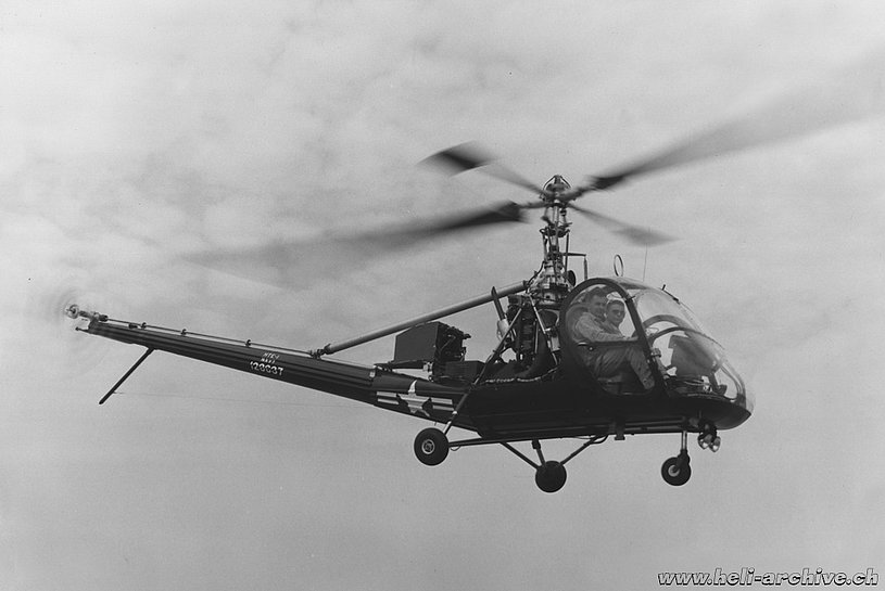 The Hiller H-23A was essentially a military version of the Hiller UH-12 (HAB)