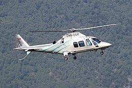Centovalli-Calascio/TI, July 2013 - The Agusta A109S HB-ZSM in service with Skymedia AG (O. Colombi)