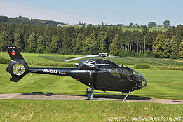 Beromünster/LU, July 2010 - The EC 120B Colibrì HB-ZMJ in service with Airport Helicopter (K. Albisser)