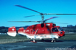 Belp/BE, spring 2005 - The Kamov KA-32A12 HB-ZFX in service with Helog-Heliswiss (P. Wernli)