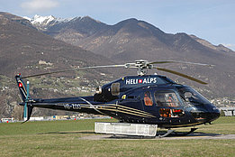 Aeroporto cantonale di Locarno/TI, March 2011 - The AS 355NP Ecureuil HB-ZOO in service with Heli-Alpes SA (M. Bazzani)