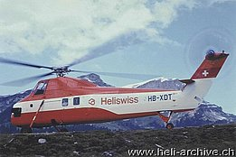 1972 - The Sikorsky S-58T HB-XDT enters in service with (HAB)