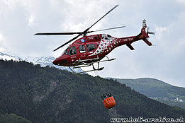 Raron/VS, May 2018 - The Bell 429 HB-ZSU in service with Air Zermatt (M. Bazzani)