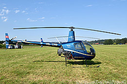 Sitterdorf/TG, August 2015 - The Robinson R-22 Beta II HB-ZMP in service with Heli Sitterdorf AG (K. Albisser)