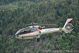 Sion/VS, May 2008 - The Eurocopter EC 130B4 HB-ZIN in service with Heli Alpes (M. Bazzani)