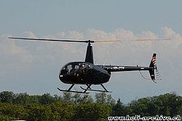 Neuchâtel/NE, June 2010 - The Robinson R-44 Raven II HB-ZTH in service with Turkey Heliski SA (B. Siegfried)