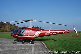 Buttwil/AG, November 2008 - The Enstrom F-280FX HB-ZIQ in service with Himmelsbach AG (T. Schmid - www.tsis.ch)