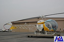 California, November 2007 - Bell 47G4A N1354X fitted with a spray kit (M. Bazzani)