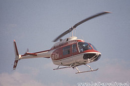 1970s - The Bell 206A Jet Ranger HB-XDH in service with Heliswiss (HAB)
