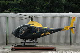 Schindellegi/SZ, June 2011 - The Schweizer 333 HB-ZMN in service with Robert Fuchs AG (M. Bazzani)