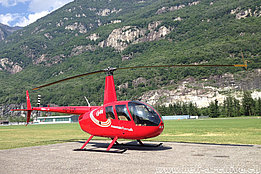 Lodrino/TI, June 2012 - The Robinson R-44 Raven II HB-ZGM in service with Mountain Flyiers 80 Ltd. (M. Bazzani)
