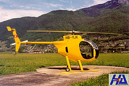Airport of Locarno, May 2000 - Brinkert Mini 500 HB-YJK (M. Bazzani)