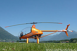 Locarno airport, June 2011 - The Elisport CH-7 Kompress HB-YNB of Karl Kistler (M. Bazzani)