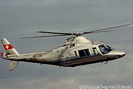 1990s - The Agusta A109AII HB-XRK in service with Helog (P. Wernli)