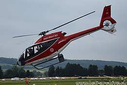 Grenchen/SO, June 2017 - The EC120B Colibri HB-ZGQ in service with Airport Helicopter AHB AG (M. Bazzani)