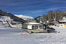 WEF Davos 2016 - The Agusta-Westland 139 HB-ZQK in service with Swiss Jet AG (D. Mazza)