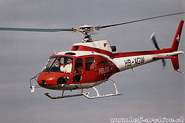 1986 - The AS 350B Ecureuil HB-XGW in service with Helog (P. Wernli)