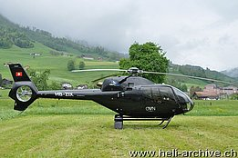 Oberdorf/BL, May 2013 - The EC 120B Colibrì HB-ZIX in service with Alpinlift Helikopter AG (T. Schmid)