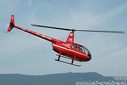 Grenchen/SO, March 2015 - The Robinson R-44 Raven II HB-ZGG in service with Helitrans AG (K. Albisser)