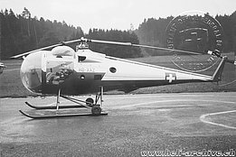 The Brantly B.2 HB-XAZ registered in Switzerland in 1961 by Hans Berger (AFS)