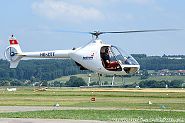 Grenchen/SO, June 2017 - The Guimbal Cabri G2 HB-ZTT in service with Helitrans AG (K. Albisser)