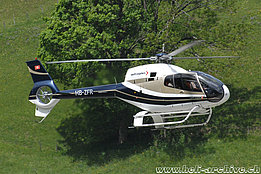 May 2008 - The EC 120B Colibri HB-ZFR in service with Swift Copters SA (N. Däpp)