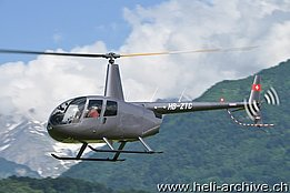 Bex/VD, June 2013 - The Robinson R-44 Raven II HB-ZTC in service with Helistar SA (T. Schmid)