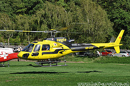 August 2017 - The AS 350B3 Ecureuil HB-ZGV in service with Swift Copters SA (T. Schmid)