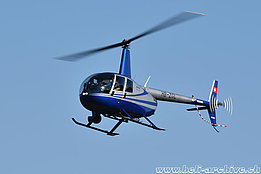 Zurich/ZH, August 2015 - The Robinson R-44 Raven II HB-ZGL in service with Valair AG (K. Albisser)