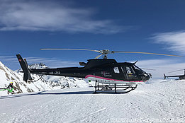 Rothorn/VS, February 2019 - The AS 350B3e Ecureuil HB-ZYA in service with Tarmac Aviation SA (H. Zurniwen)