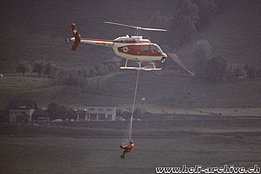 1970s - The Agusta-Bell 206B Jet Ranger II HB-XDP in service with SARG (HAB)