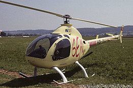 August 2000 - The Rotorway Exec 162F HB-YIJ belonging to Frey Meinrad (P. Wernli)