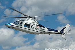 July 2005 - The Agusta A109C HB-ZFK in service with Hoppe AG (K. Albisser)