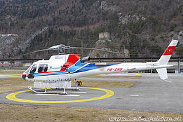 Untervaz/GR, February 2016 - The AS 350B3e Ecureuil HB-ZND in service with Swiss Helicopter (M. Bazzani)
