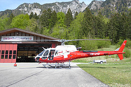 Gsteigwiler/BE, May 2019 - The AS 350B3e Ecureuil HB-ZTO in service with Swiss Helicopter (M. Bazzani)