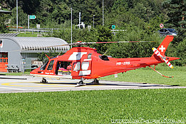 Ersfeld/UR, August 2016 - The AW 109SP Da Vinci in service with Rega (M. Ceresa)