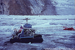 Greenland, late '60s - The Agusta-Bell 47G3B-1 HB-XCI in service with Heliswiss (HAB)