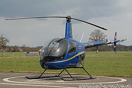 Sitterdorf/TG, March 2008 - The Robinson R-22 Beta II HB-ZHB in service with Heli Sitterdorf AG (N. Däpp)