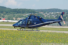Zurich-Kloten airport, May 2008 - The Agusta A119 Koala HB-ZIU in service with Swiss Jet AG (K. Albisser)
