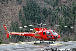 Gsteigwiler/BE, March 2008 - The AS 350B3 Ecureuil HB-ZIG in service with Bohag (M. Bazzani)