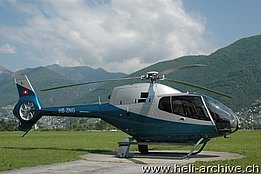 Locarno airport/TI, May 2012 - The EC 120B Colibrì HB-ZNG in service with Air Grischa Helikopter (M. Bazzani)
