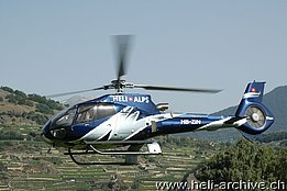 Sion/VS, July 2010 - The Eurocopter EC-130 B4 HB-ZIN in service with Héli-Alpes SA (M. Bazzani)