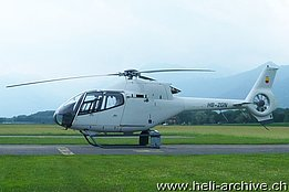 Locarno airport/TI, August 2013 - The EC 120B Colibrì HB-ZGN in service with Rotorflug Anstalt (M. Bazzani)
